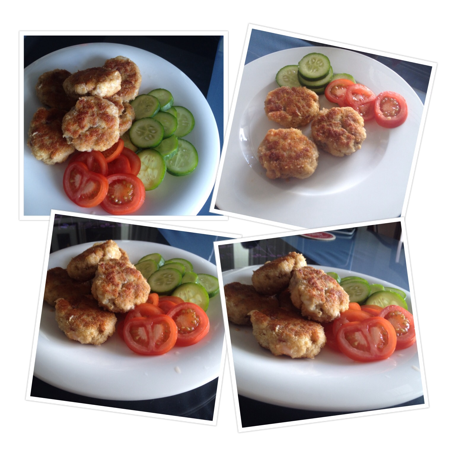 Pork and Prawn Patties