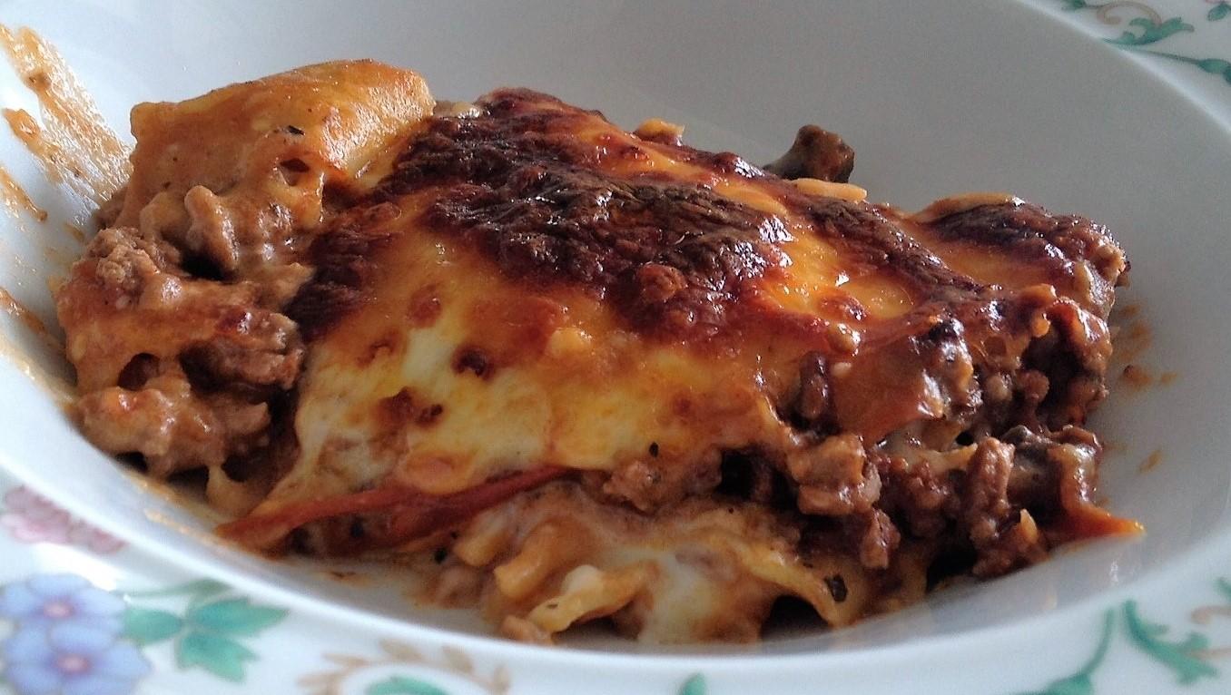 Beef & Mushroom Lasagne