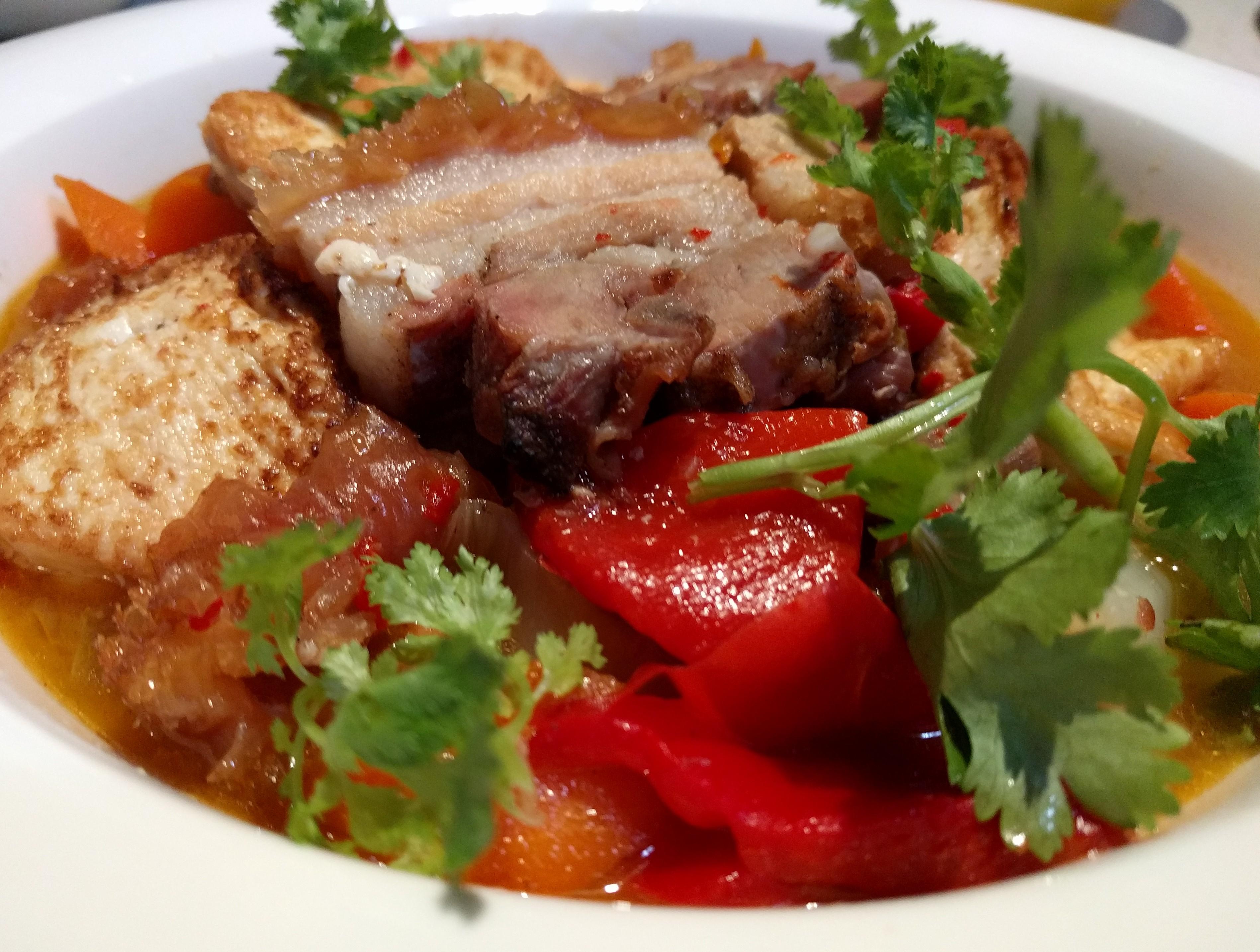 Roast Pork with Tofu