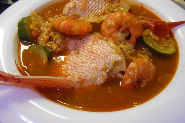 Fish & Prawn Curry