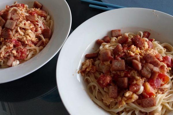 tomato egg noodles
