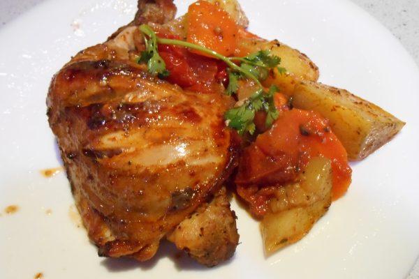 Spicy Baked Chicken