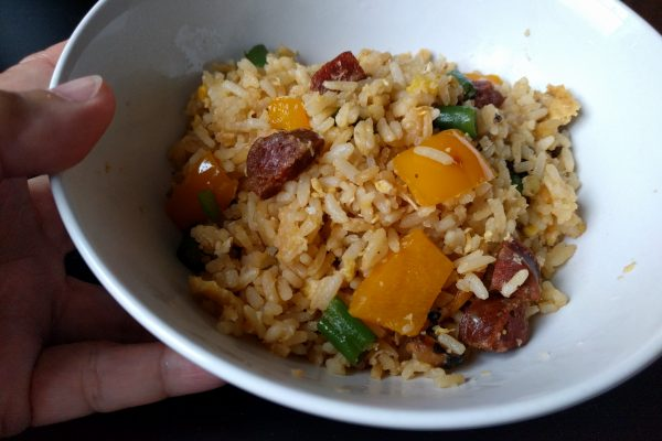 Fried Rice with Chorizo