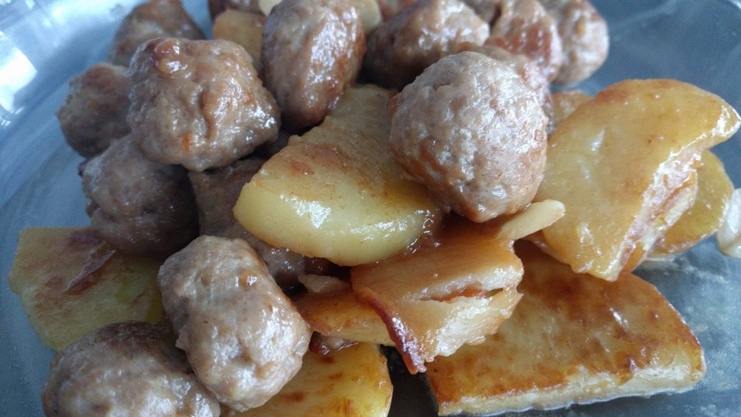 Pork Meatball with Potato