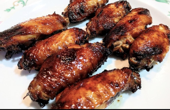 BBQ Chicken Wings (Air-fried)