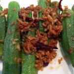 Pork Satay (spicy & tangy)